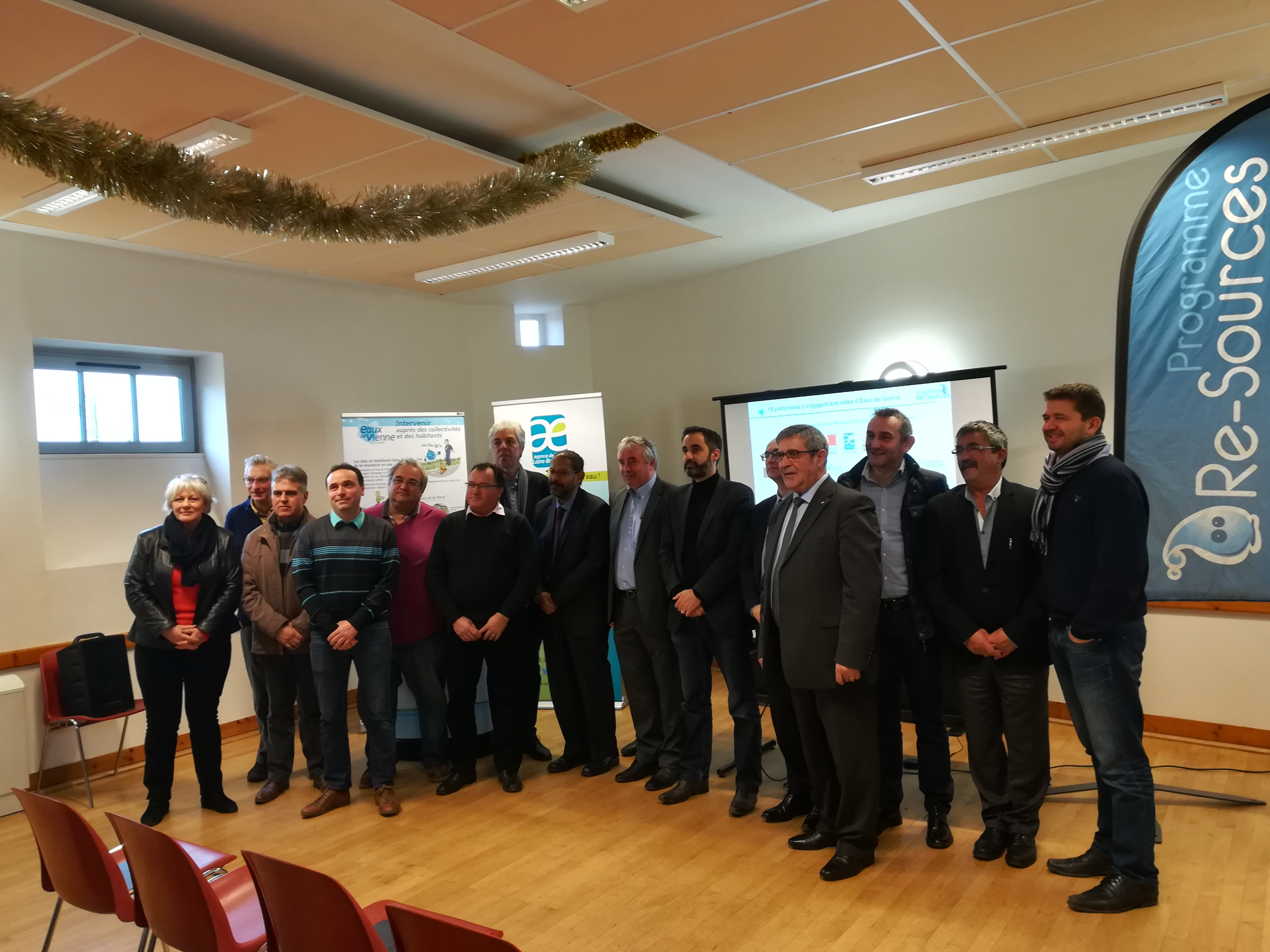 "Captage de "" Choué-Brossac "" : Signature du Contrat Re-Sources"