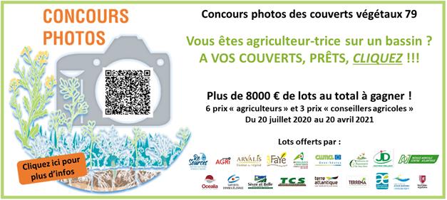 Concours : Couverts végétaux 2020/2021 en Deux-Sèvres