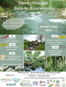 Balade gourmande au cœur de la zone humide de Saint-Fraigne @ Maison de l'Eau | Saint-Fraigne | Nouvelle-Aquitaine | France